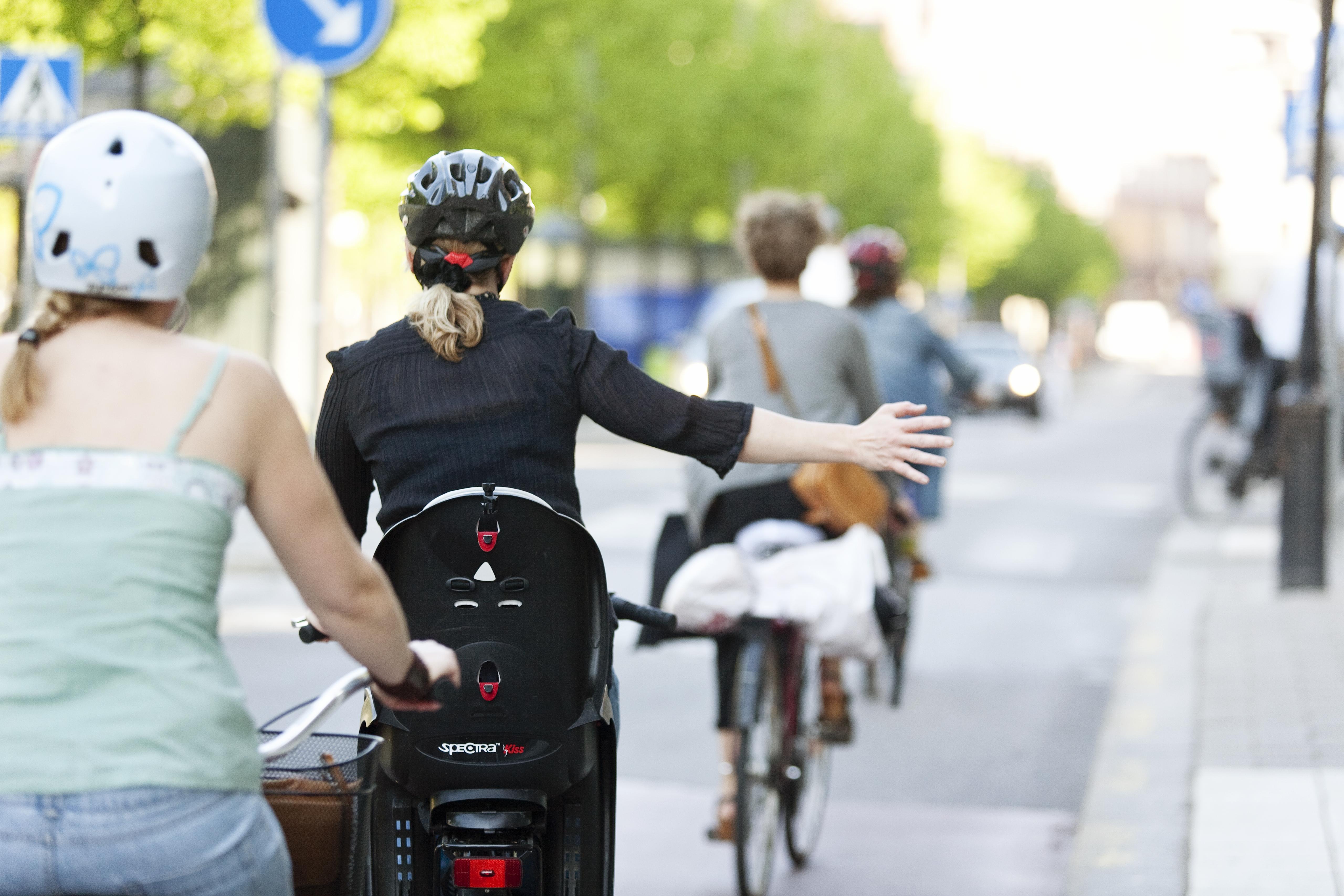 Bild på cykelmätning